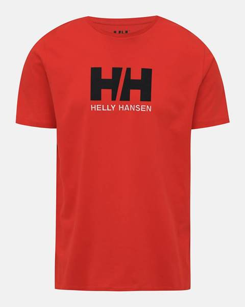 Červené tričko Helly Hansen