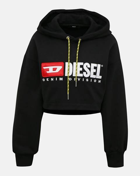 Čierna mikina Diesel