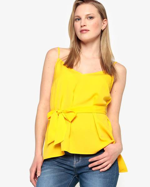 Žlté tričko French Connection
