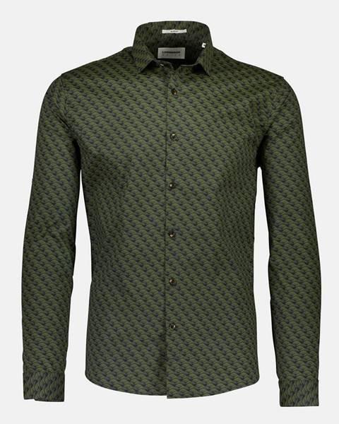 Zelená košeľa Lindbergh