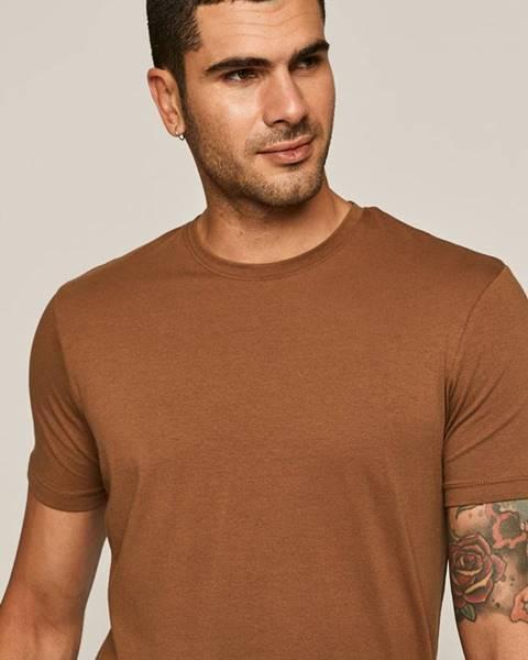 Hnedé tričko MEDICINE