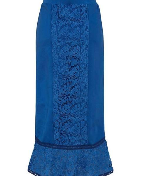 Modrá sukňa bonprix