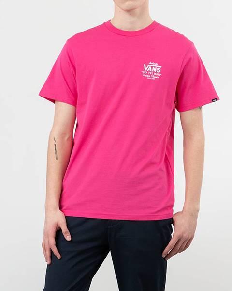 Ružové tričko Vans