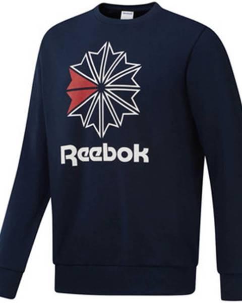 Modrá mikina Reebok Sport