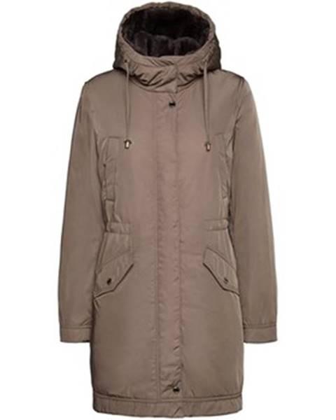 Béžový kabát Geox