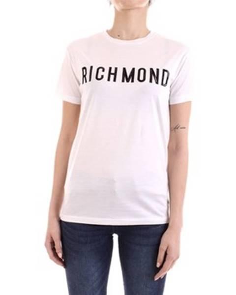Biele tričko John Richmond