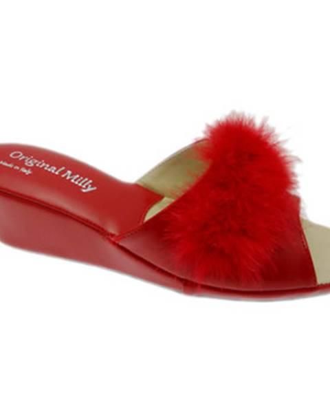 Červené sandále Milly