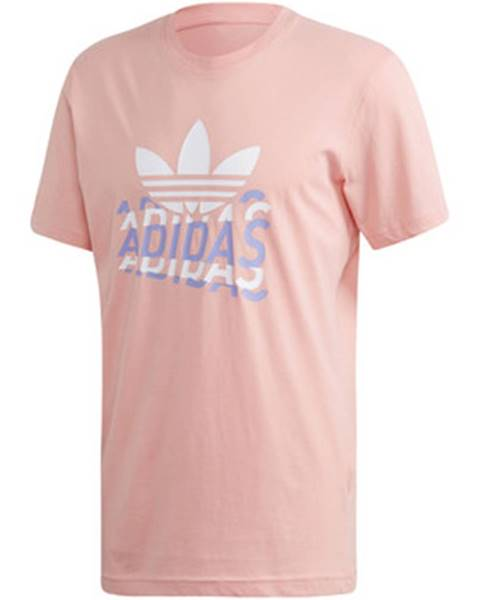 Ružové tričko adidas