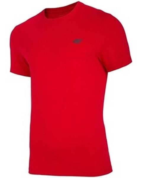Červené tričko 4F