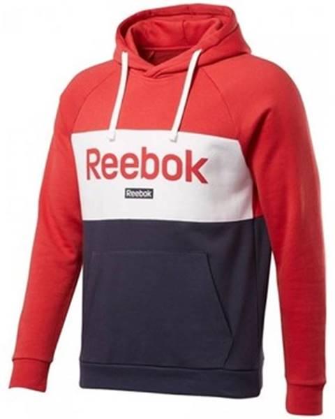 Červená mikina Reebok Sport