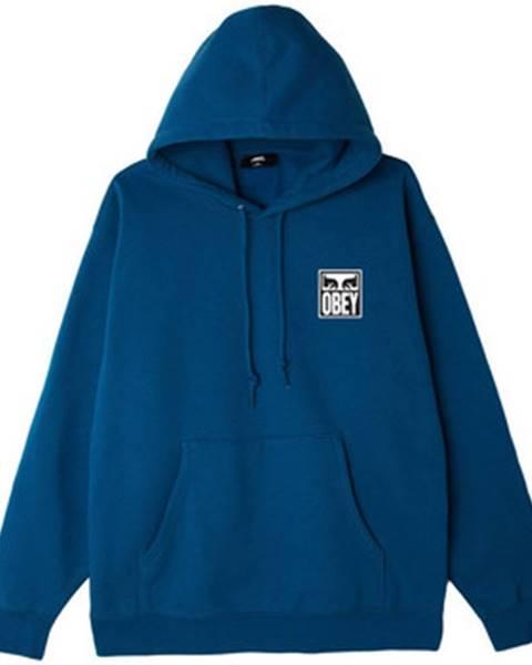 Modrá mikina Obey