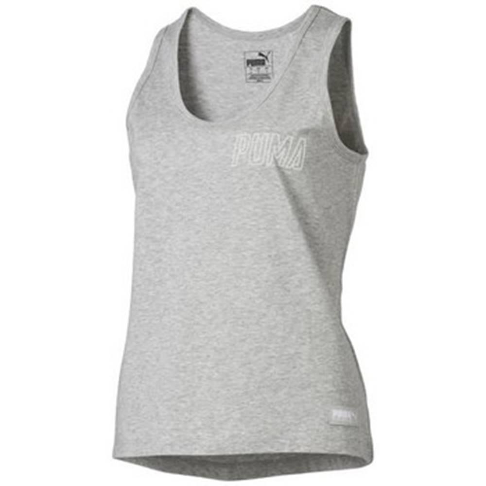 Puma Tielka a tričká bez rukávov Puma  Athletics Tank W