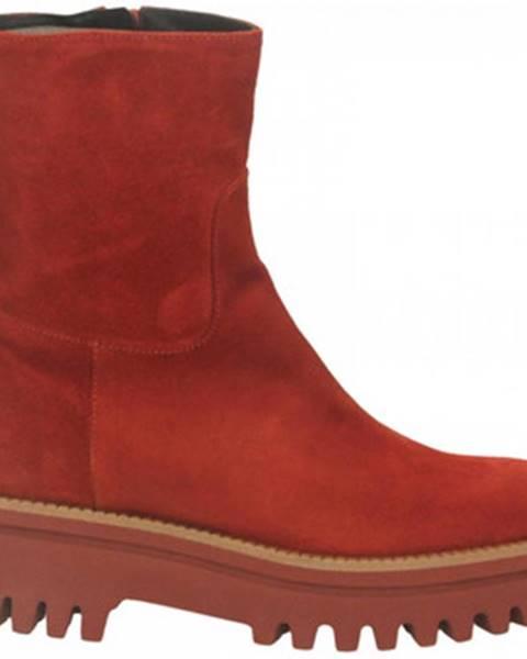 Červené topánky Paloma Barcelò