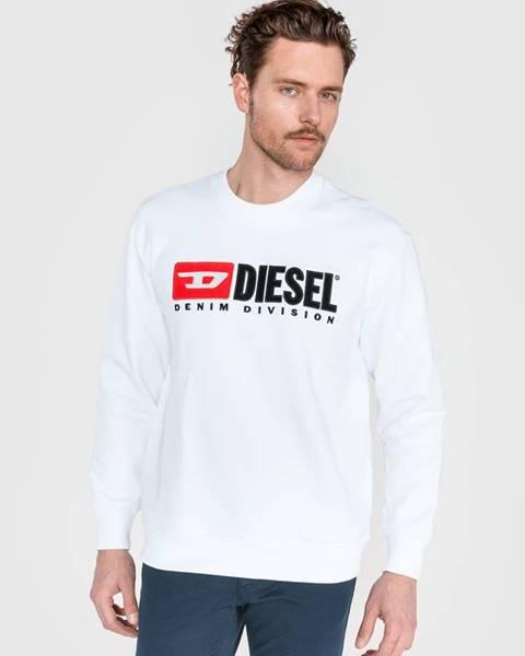 Biela bunda bez kapucne Diesel