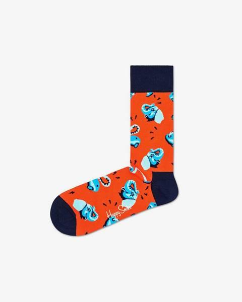 Červené ponožky Happy Socks