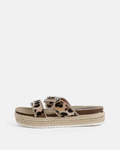 Béžové papuče Haily´s