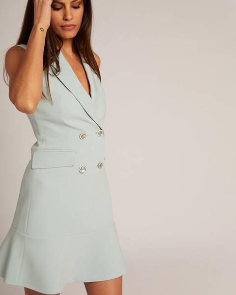 Modré šaty Morgan