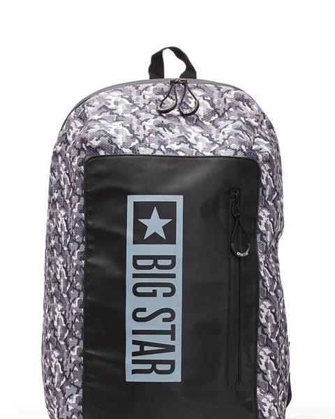 Sivý batoh Big Star Accessories