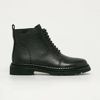 Big Star - Kožené členkové topánky