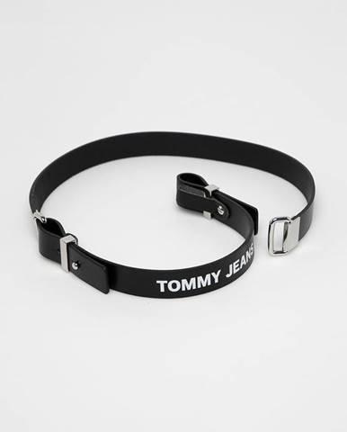 Čierny opasok Tommy Jeans