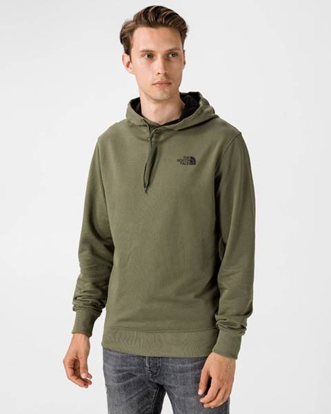Zelená bunda s kapucňou The North Face