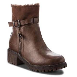 Členkové topánky Jenny Fairy WS1128-15 Materiał tekstylny,koža ekologická