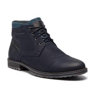 Šnurovacia obuv  9236 nubuk,koža(useň) lícová