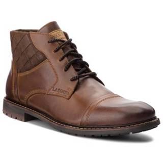 Šnurovacia obuv  MB-LUTHER-15-04 koža(useň) zamšová,koža(useň) lícová