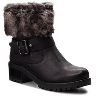 Členkové topánky Clara Barson WS1128-07 Materiał tekstylny,koža ekologická