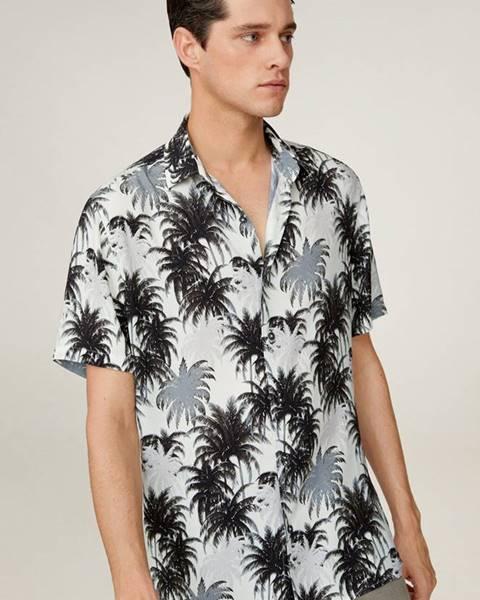 Béžová košeľa Mango Man