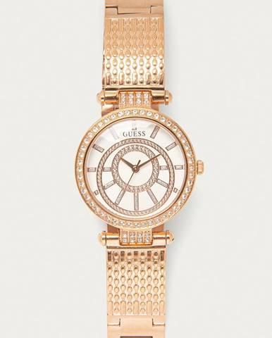 Zlaté hodinky Guess Jeans