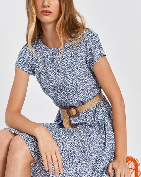 Modré šaty Answear Lab