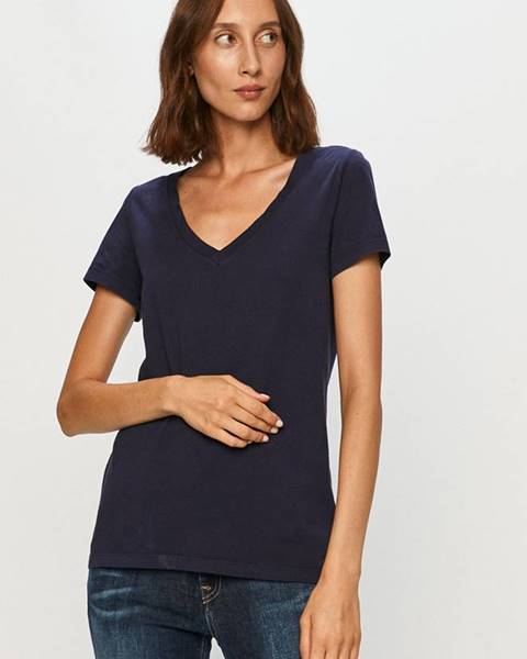 Tmavomodré tričko Gap