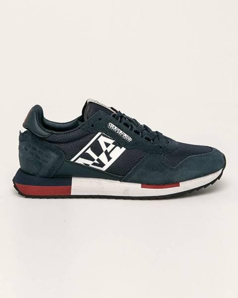 Tmavomodré topánky Napapijri