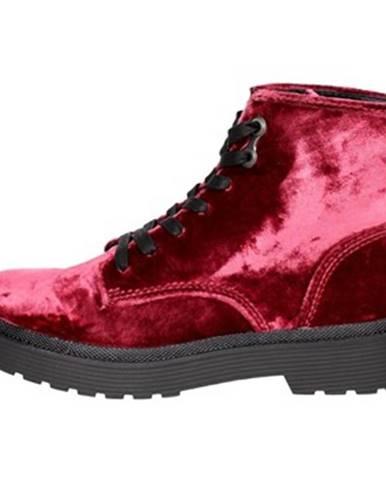 Červené topánky Calvin Klein Jeans