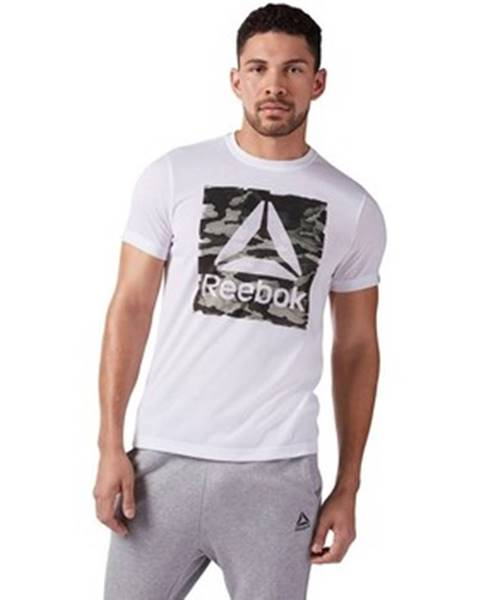 Biele tričko Reebok Sport