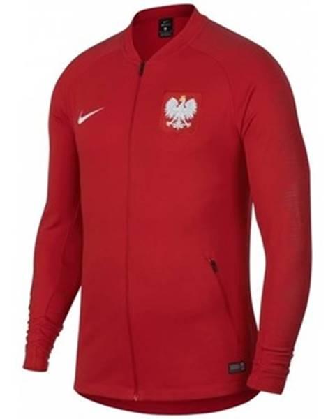 Červená mikina Nike