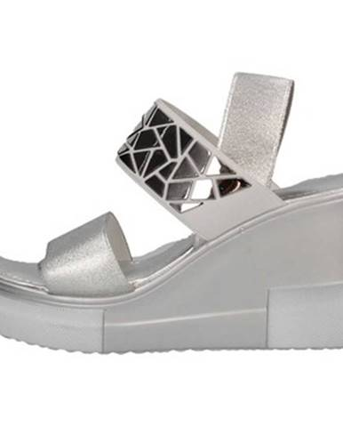 Strieborné sandále Cromia