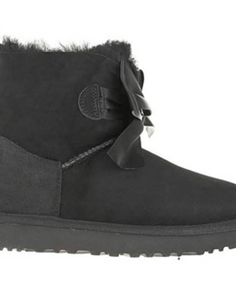 Čierne topánky UGG