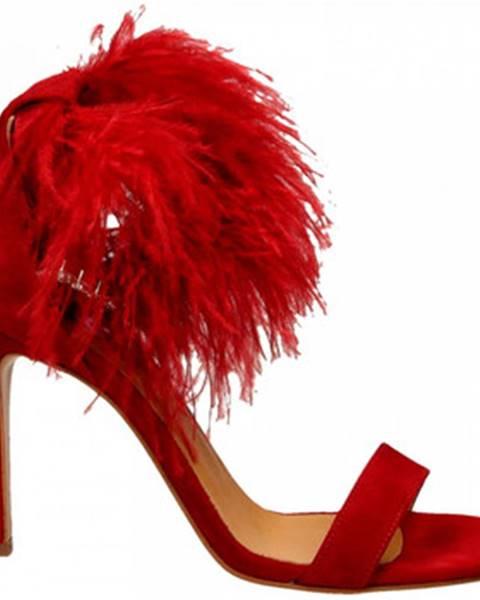 Červené sandále Aniye By