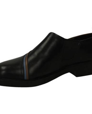 Čierne mokasíny Camper