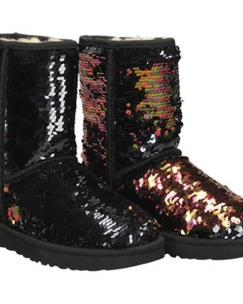 Zlaté topánky UGG