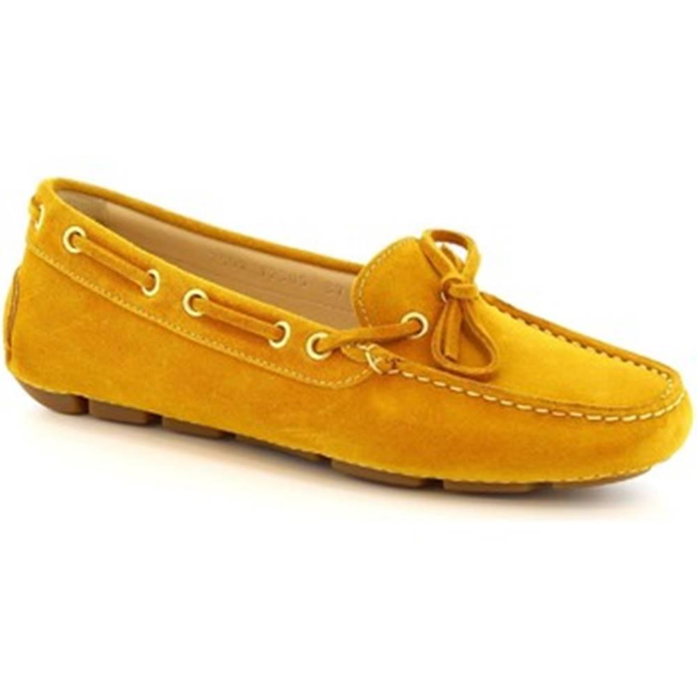 Leonardo Shoes Balerínky/Babies  7502 SOFTY TOPAZIO (TUCANO 303)