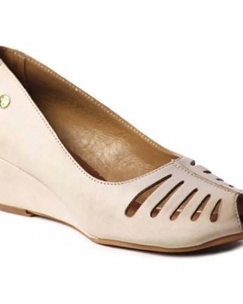 Béžové sandále Maciejka
