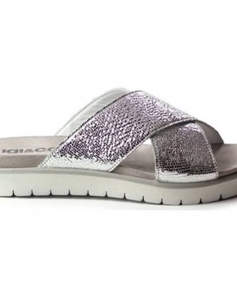 Strieborné sandále IGI CO