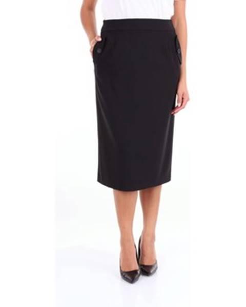 Čierna sukňa Blue Les Copains