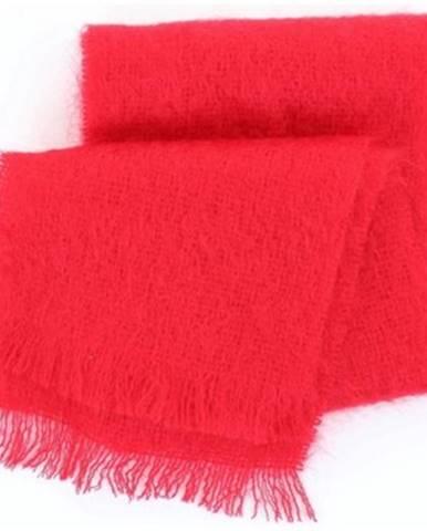 Červený šál Doppiaa