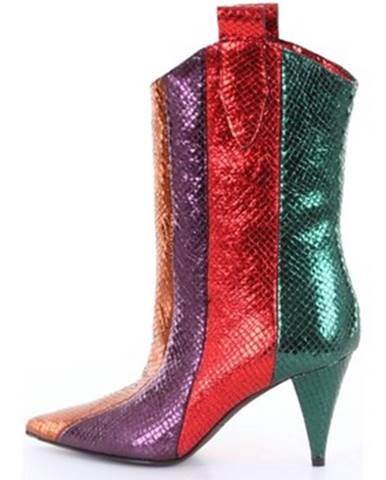 Viacfarebné topánky Around The Brand