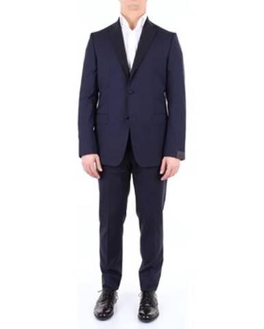 Modrý oblek Alessandro Dell'acqua