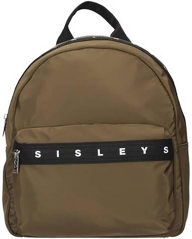 Zelený batoh Sisley